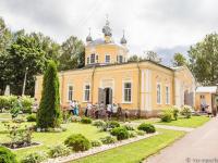 Сегодня праздник в Антониево-Леохновском монастыре под Старой Руссой