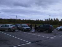 Шесть водителей попали в ДТП на выезде из Новгорода и в Ермолине