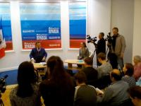Текстовая трансляция первой пресс-конференции Андрея Никитина в должности губернатора