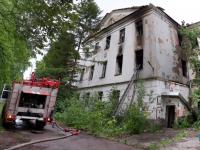 Учреждение Минобороны оштрафуют за разруху в бывшем военном госпитале на Гзени