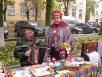 В Боровичах прошла Покровская ярмарка