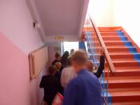 В боровичском колледже из-за пожара эвакуировали 245 человек