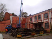 В ДК чудовского Краснофарфорного идет капремонт на 4 млн рублей