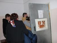 В хвойнинском доме престарелых художник-инвалид попросил пристанища в комнате с дверью с окошком и решеткой