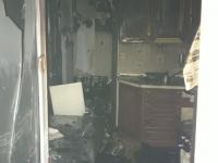 В многоэтажном доме на Корсунова, где загорелась квартира, пожарные спасли людей