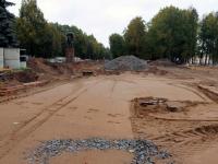 В Старой Руссе консервируют недавно найденный мост через Малашку
