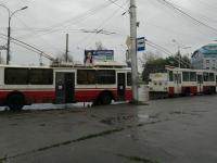В Великом Новгороде из-за аварии затруднено движение троллейбусов