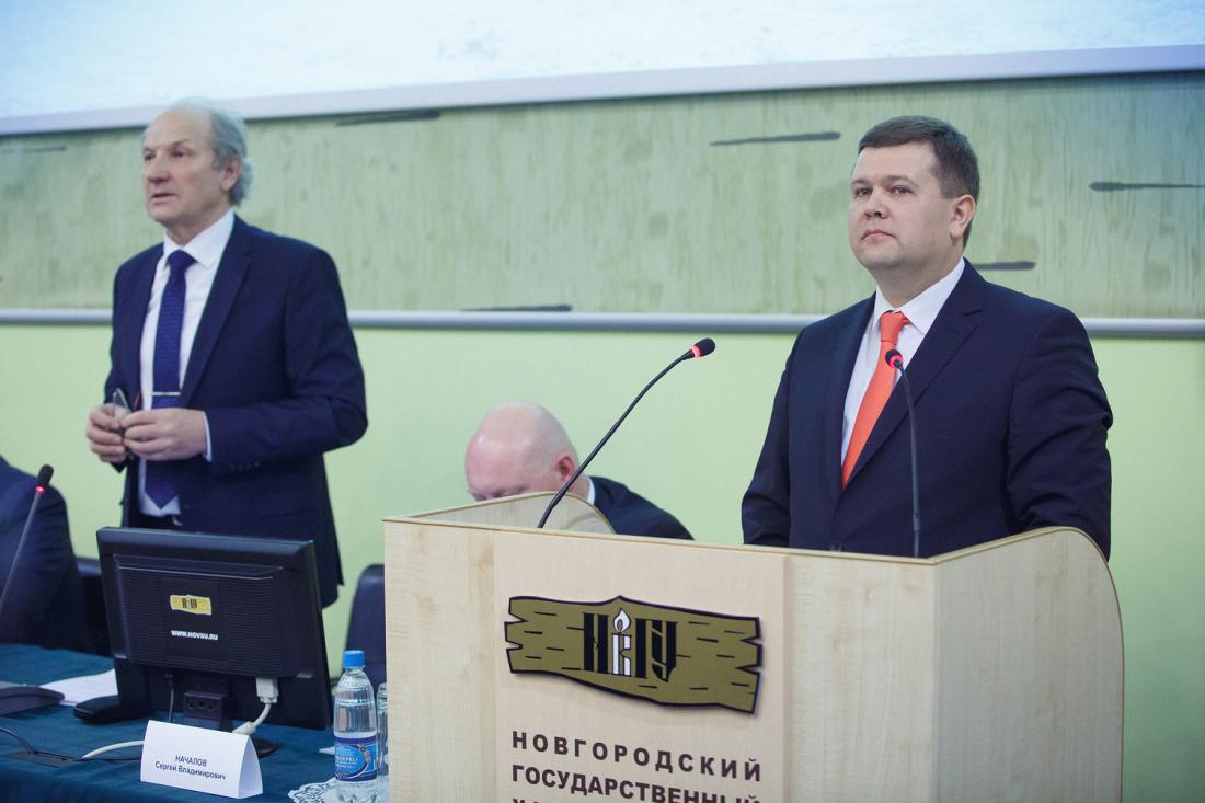 Юрий Боровиков прокомментировал информацию о смене логотипа НовГУ