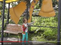 Девочка из Санкт-Петербурга рассказала о любимом Валдае в видео для школьного задания