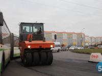 Движение на Большой Московской и Державинском кольце затруднено из-за ремонта дороги