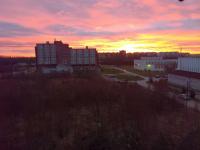 Фото: утро порадовало новгородцев потрясающим рассветом