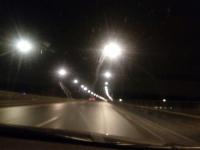 Фотофакт: на Деревяницком мосту включили свет