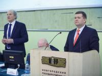 Ио ректора НовГУ Юрий Боровиков: вуз должен обязательно стать опорным для региона
