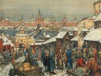 Картина Васнецова «Прошлое Великого Новгорода» ушла с молотка за рекордную цену