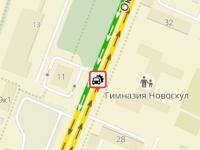 Маршрутка «Новгородавто» попала в аварию недалеко от вокзала