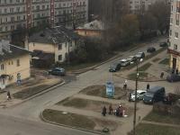 На улице Большой Московской рухнувшему знаку пешеходного перехода нашли преемника