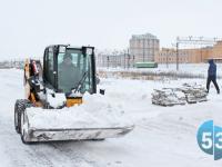 Бесснежная зима сможет порадовать только «Новгородское спецавтохозяйство»