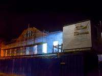 По соседству с монументом Победы в Великом Новгороде строится двухэтажный ресторан