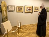 В Боровичах открылась выставка одной святыни, посвященная небесному покровителю города на Мсте