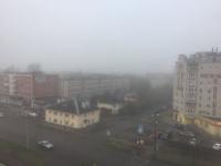 Великий Новгород и Санкт-Петербург окутал туман