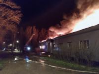 Видео: кинотеатр «Вельгия» в Боровичах ночью охватило пламя