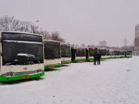 23 автобуса из Москвы выехали в Великий Новгород