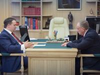 Андрей Никитин предложил сенатору Сергею Митину выступить с законодательными инициативами