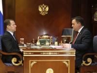 Дмитрий Медведев встретился с Андреем Никитиным
