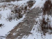 Дорога из новгородских Ивушек в Волховец превратилась в западню