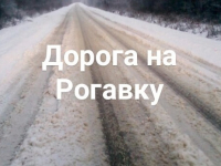 Фотофакт: заснеженная дорога под Великим Новгородом