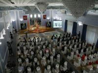 Медальоны погибших на Новгородчине красноармейцев переданы родственникам в Вологодской области