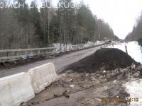 Мост через Шегринку - ловушка для машин