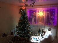 Настоящую сказку создает семья из Валдая у себя дома на каждый Новый год