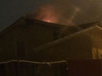 Ночью в Великом Новгороде спасали многодетную семью из огня