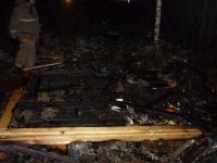 Новгородский строитель погиб на пожаре в Калужской области