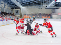 Фото: Россия разгромила Швейцарию в Великом Новгороде
