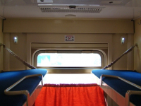 РЖД: пассажир с верхней полки может сесть на нижнюю только с согласия попутчика