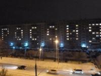 Слово «Россия» светящимися окнами общежития напишут сегодня вечером новгородские студенты