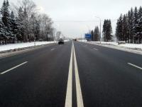 Трассу М-10 в Валдайском районе расширили до четырех полос