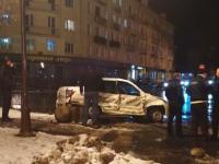 У новгородского Дома Советов произошло ДТП с автомобилем охранной фирмы