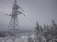 В четырех районах Новгородской области пострадало электроснабжение из-за снежного циклона