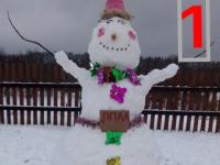 В Пестове во всю проходит битва снеговиков