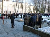 В Великом Новгороде почтили память Неизвестного солдата