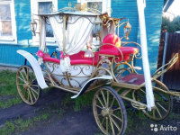 В Великом Новгороде продается карета