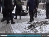 Видео: новгородские полицейские задержали группу подозреваемых в крупной краже спецтехники