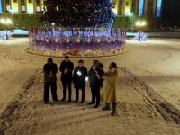 Видео: новогодний клип НТ с первыми лицами Новгородской области