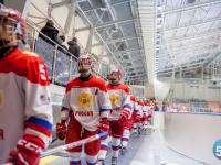 Юниорская сборная России по хоккею одержала победу над командой из США на новгородском льду