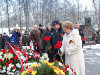 Андрей Никитин и Елена Писарева поздравили новгородцев с 74-й годовщиной освобождения Новгорода
