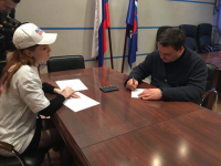 Андрей Никитин подписался в поддержку Владимира Путина