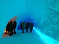 Десятый год в Заполярье сказочно используют снег у подножия Вудъяврчорр